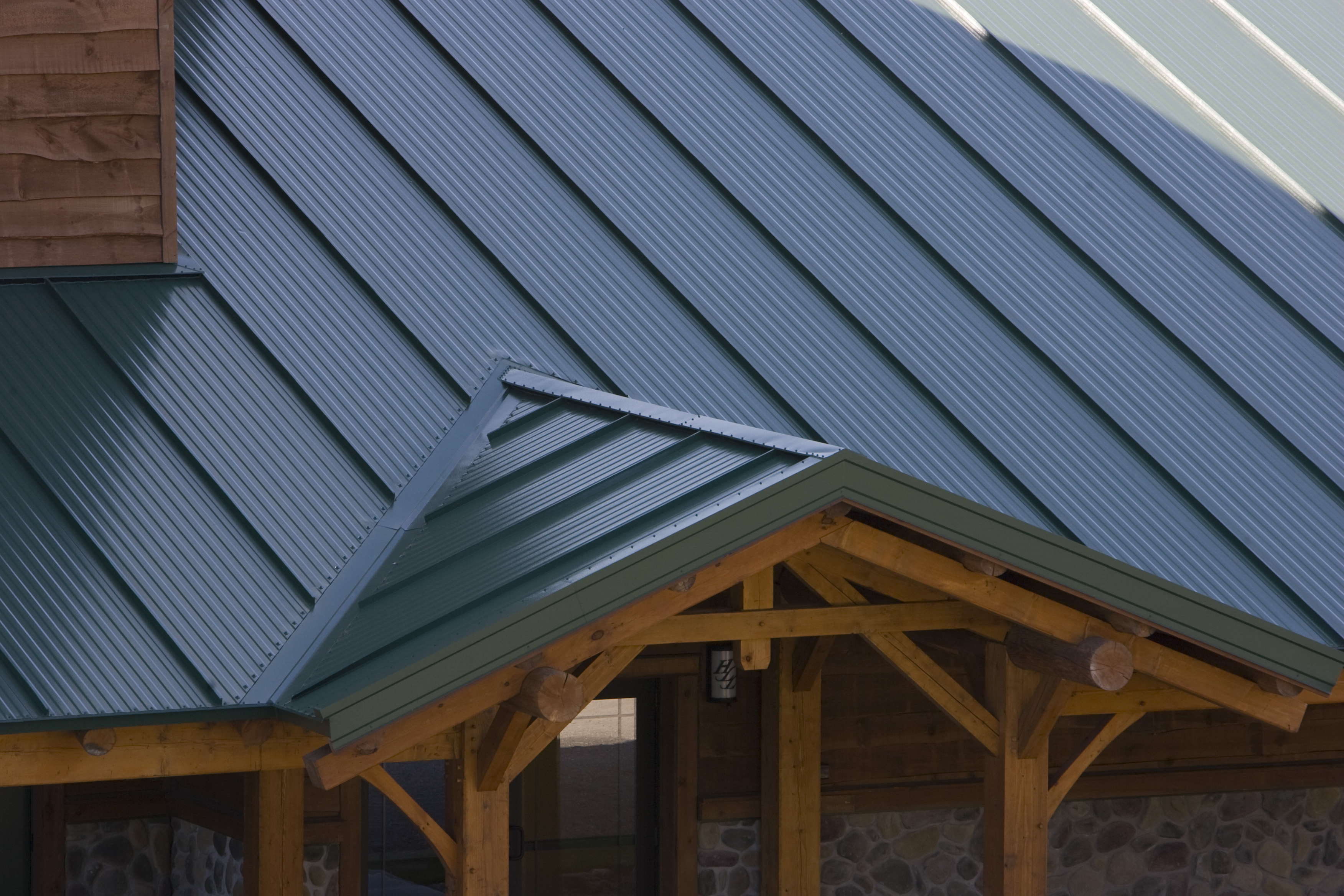 Hope Lake Lodge Metl Span Insulated Wall Panels Roof