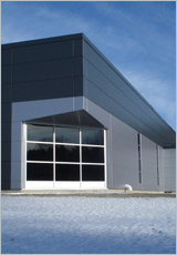 Cf architectural horizontal wall panel metl span for Horizontal metal siding