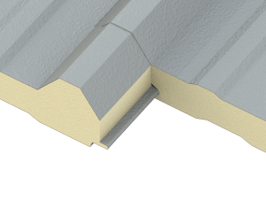 LS-36 Insulated Roof and Wall Panel Joint