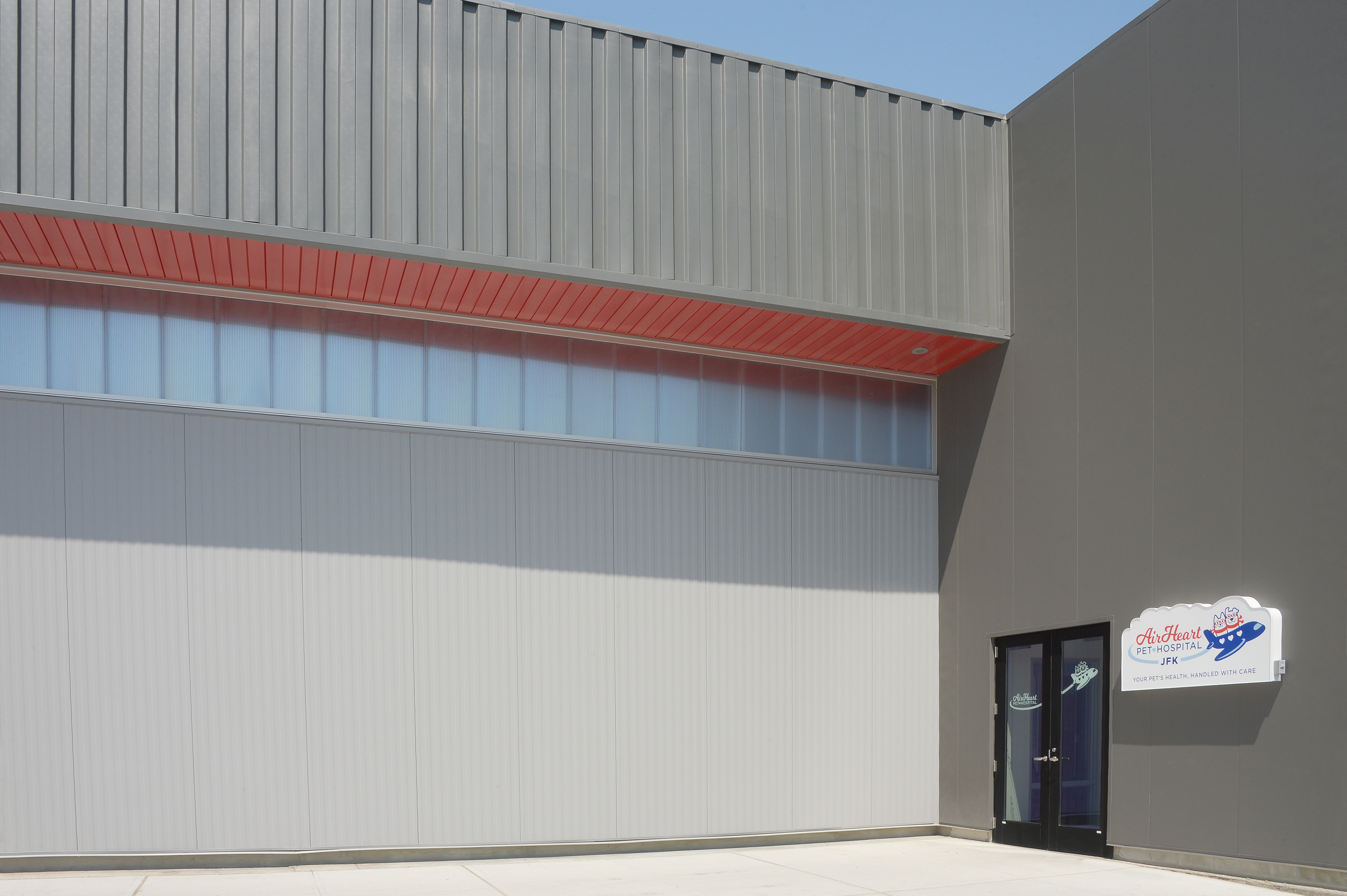 CF Architectural Vertical Wall Panel