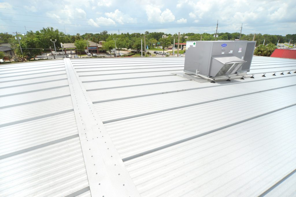 Metl Span Imps Serve As Roofing And Siding For Commercial