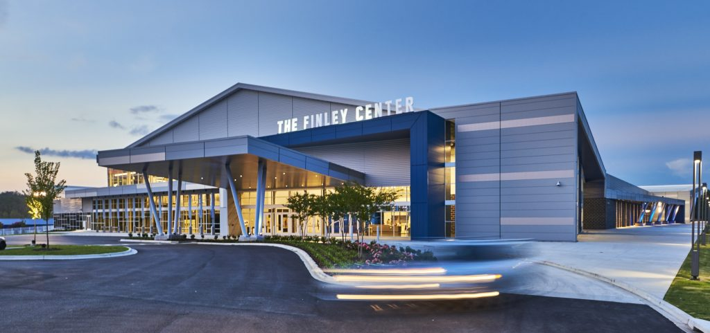 Finley Center sports complex - Metl-Span CFR Mesa