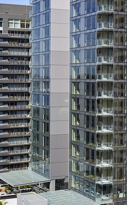 West Edge Tower CF Architectural Vertical